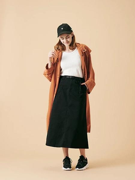 Gramicci国际品牌2020春夏长款时尚风衣外套
