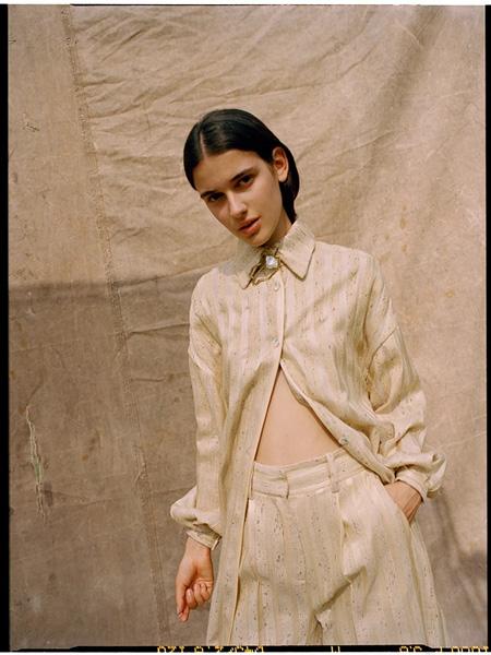 darinhachem国际品牌品牌2020春夏棉麻套装