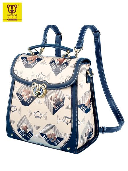 DICK BEAR迪克熊箱包品牌时尚百搭潮流高级感超火刺绣小背包