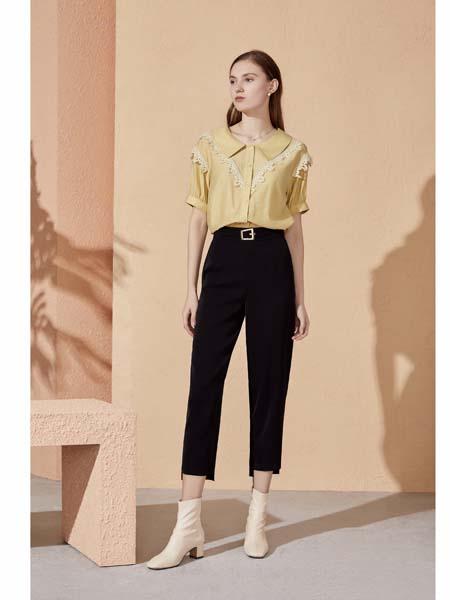 你即永恒女装品牌2020春夏时尚衬衫七分裤