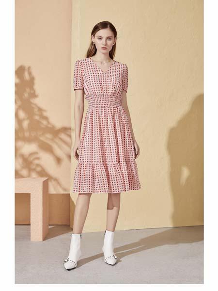 你即永恒女装品牌2020春夏波点连衣裙