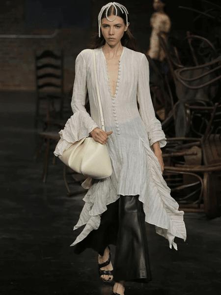 Khaite国际品牌品牌v领修身连衣裙
