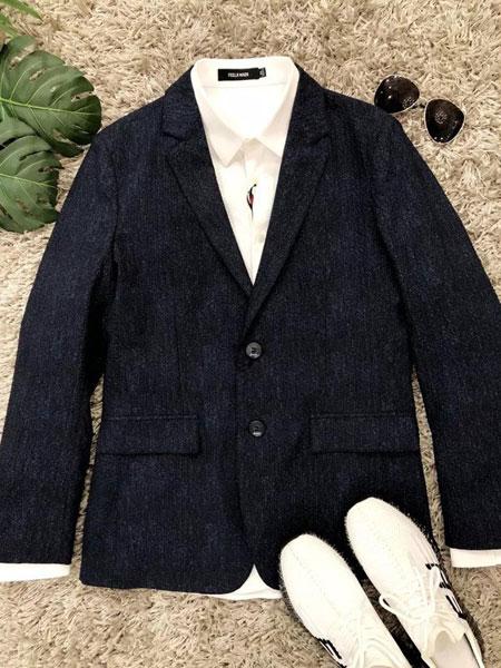 非莱FEELRWAER男装品牌2020春夏知性西装外套