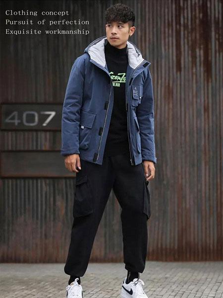非莱FEELRWAER男装品牌2020春夏保暖羽绒服