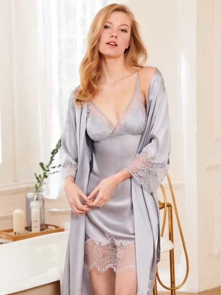 曼妮芬内衣品牌2020春夏性感睡衣女
