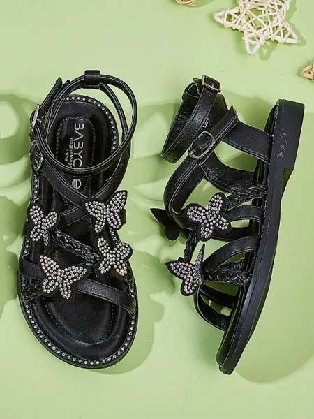 宝贝传奇童鞋品牌2020春夏女童凉鞋