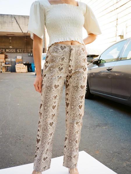 Lisa Says Gah国际品牌品牌2020春夏休闲花色裤子