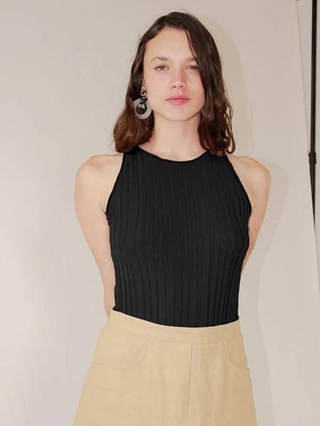 Ajaie Alaie国际品牌2020春夏无袖背心针织衫