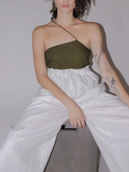 Ajaie Alaie国际品牌品牌2020春夏时尚吊带上衣