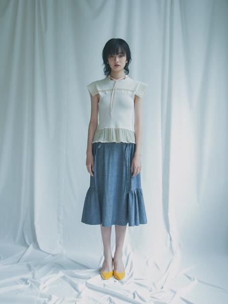 Yuki Shimane国际品牌2020春夏复古汉服元素套装