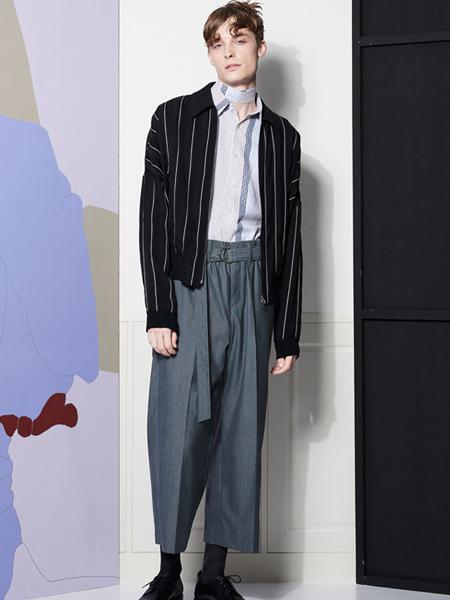 LIBERUM国际品牌2020春夏休闲条纹外套