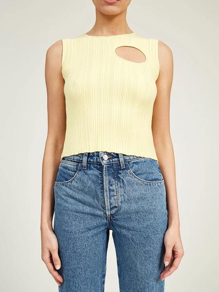 Lorod国际品牌品牌2020春夏修身针织衫背心
