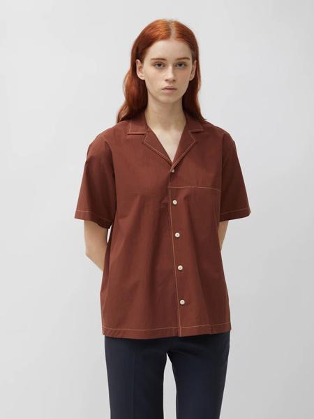 Lorod国际品牌2020春夏复古衬衫短袖