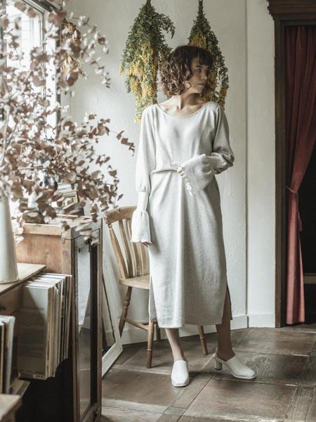 THURIUM国际品牌棉麻连衣裙