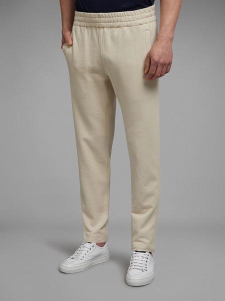 Brioni布里奥尼国际品牌白色休闲运动裤