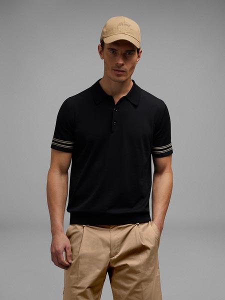 Brioni布里奥尼国际品牌品牌休闲polo衫短袖