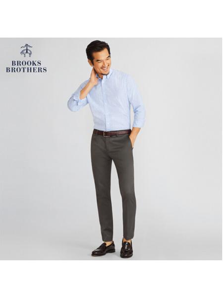 Brooks Brothers布克兄弟国际品牌纯棉衬衫