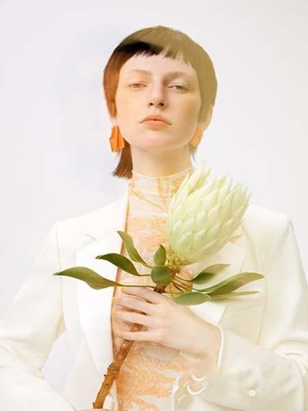 佧茜文女装品牌2020春夏外套西装