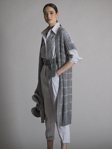 LORENA ANTONIAZZI国际品牌长款宽松马甲外套