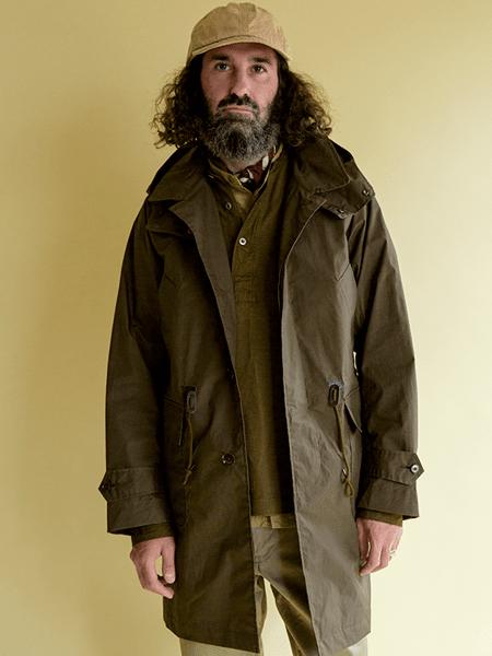 Soundman国际品牌长款夹克衫外套