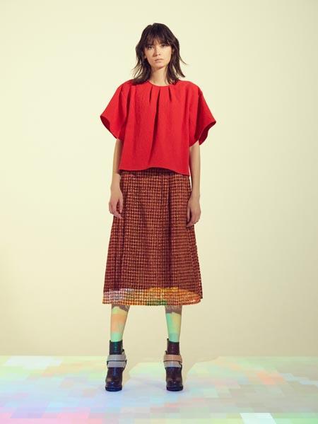 JUN OKAMOTO国际品牌纯棉宽松短袖