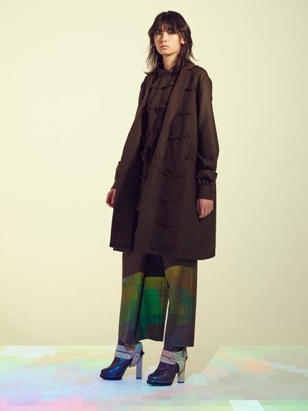 JUN OKAMOTO国际品牌时尚毛呢大衣