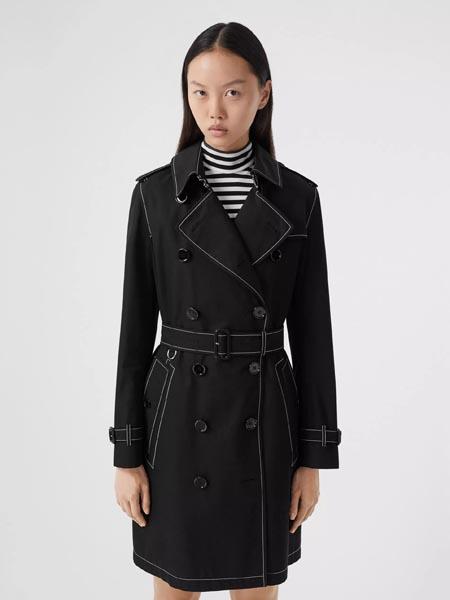 Burberry博柏利国际品牌品牌2020春夏休闲收腰风衣