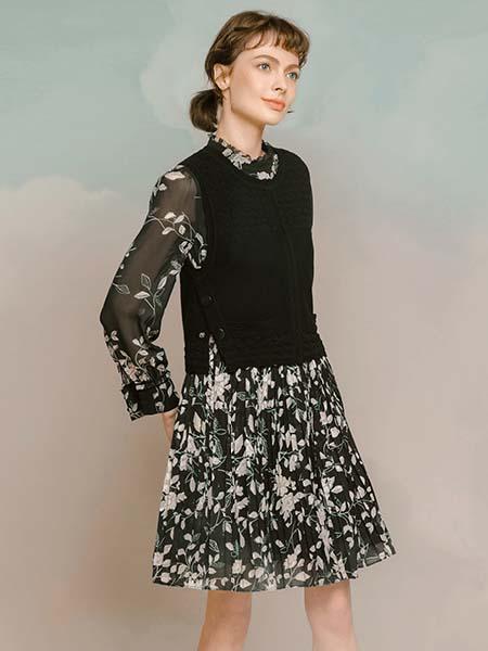 维格娜丝女装品牌2020春夏毛衣背心