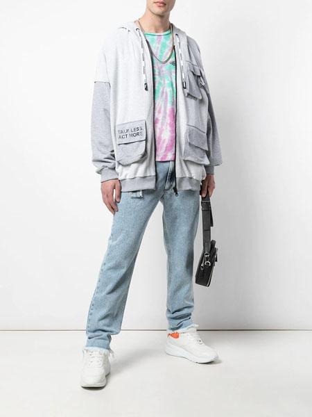 A LeFRUDE E国际品牌休闲个性大口袋外套