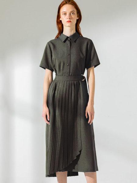 UNITED TOKYO国际品牌时尚显瘦收腰连衣裙