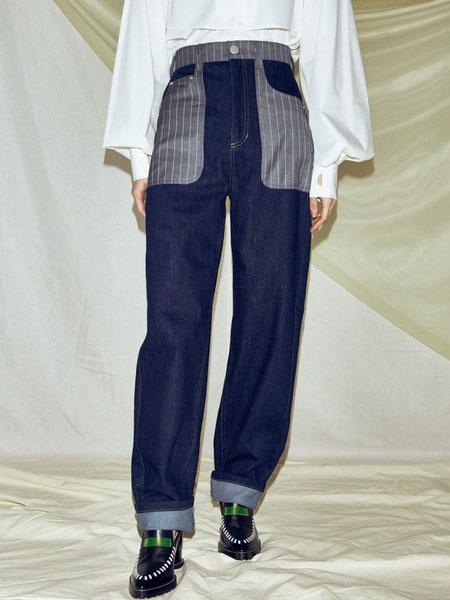 Pameo Pose国际品牌个性大口袋牛仔裤