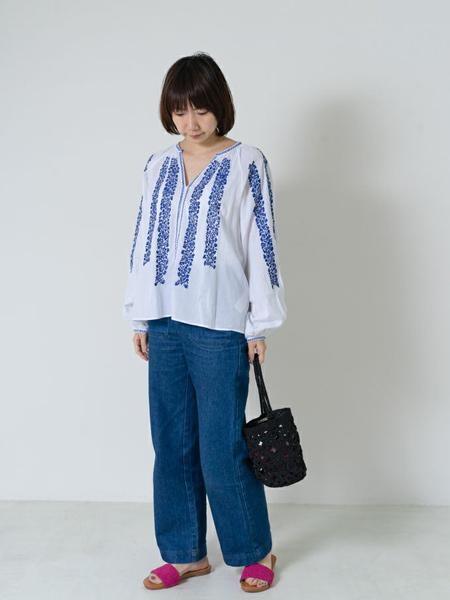 nequittezpas国际品牌时尚雪纺衬衫