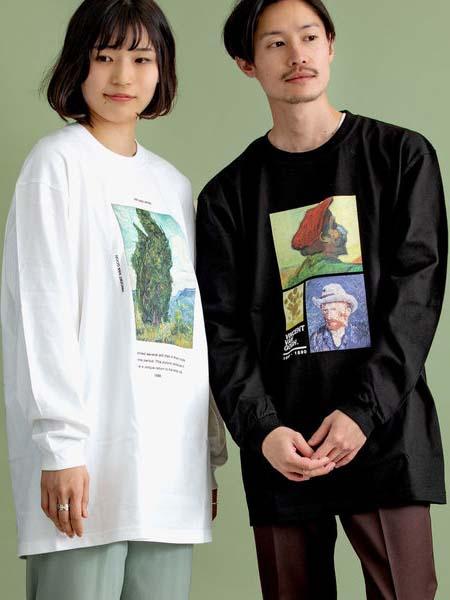 SHIPS国际品牌品牌情侣款印花卫衣