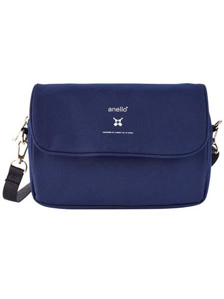 anello箱包品牌2020春夏蓝色单肩包
