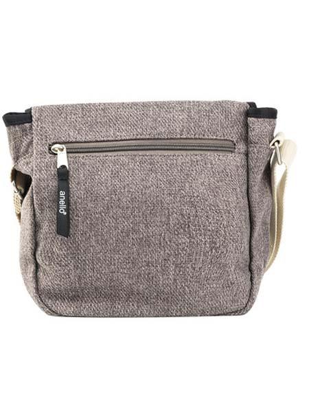 anello箱包品牌2020春夏灰色时尚女单肩包斜挎包迷你信使包