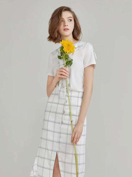 臻色調女裝品牌2020春夏時尚知性套裝裙