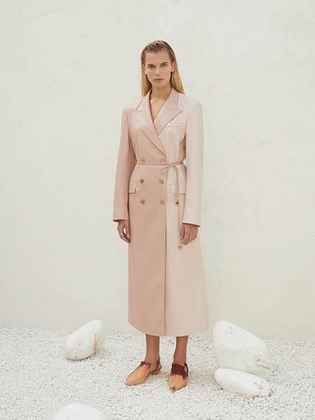 Nanushka国际品牌时尚不规则收腰西装外套
