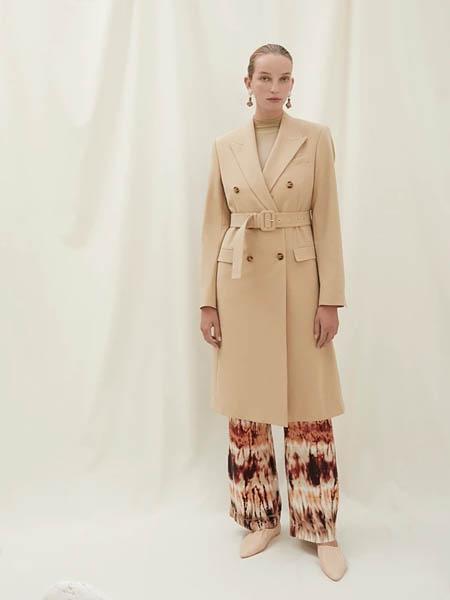 Nanushka国际品牌收腰知性风衣