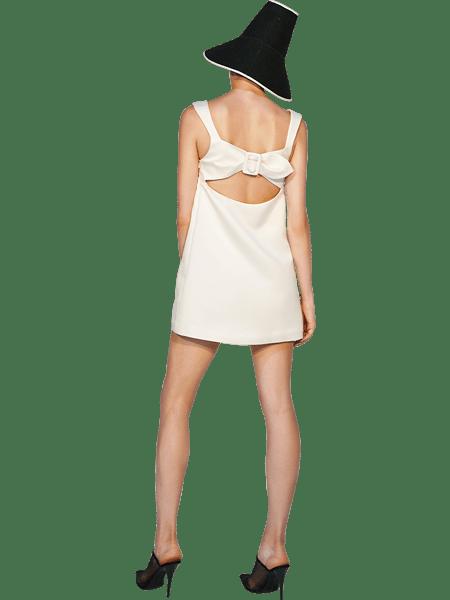 Vickteerut国际品牌品牌露背短款迷你裙