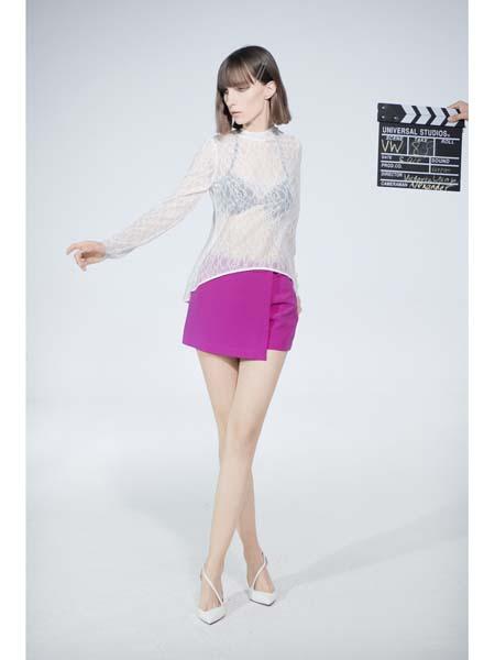 Victoria Wang国际品牌复古长袖防晒衫