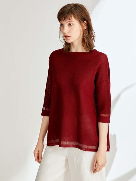 ST.ROLLER ORIGINAL国际品牌新款女装圆领套头上衣镂空编织宽松针织衫