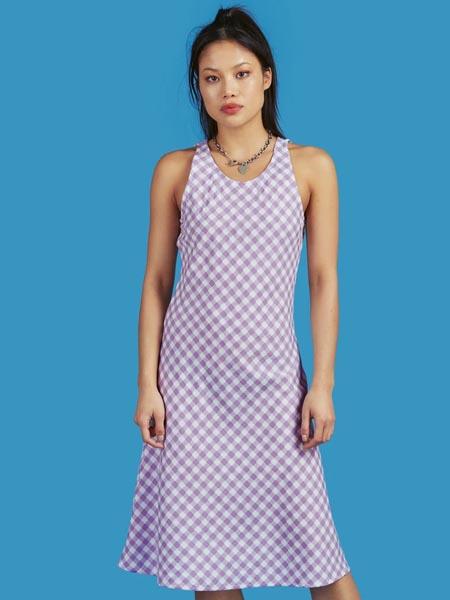 unif国际品牌品牌休闲小个子吊带裙
