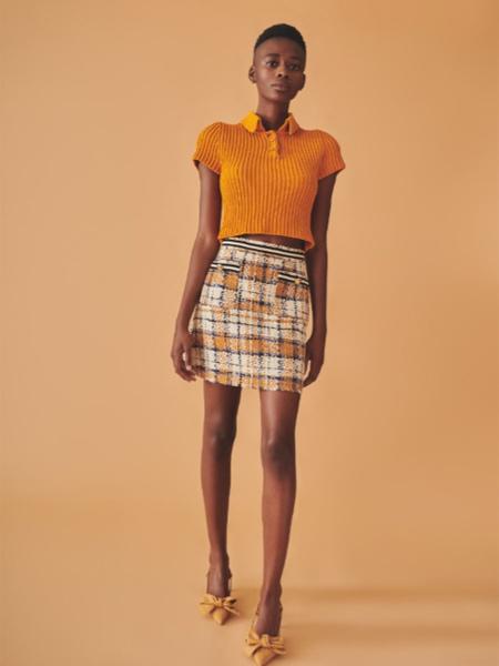 Jucca国际品牌针织短款短袖