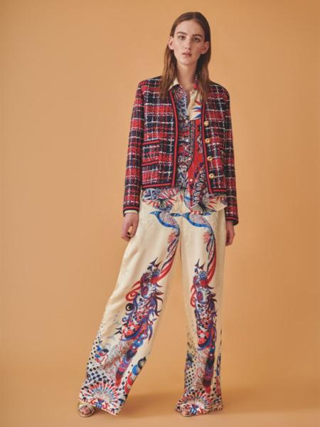 Jucca国际品牌格子毛呢外套