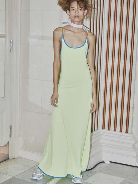 Jamie Wei Huang国际品牌修身背心吊带裙