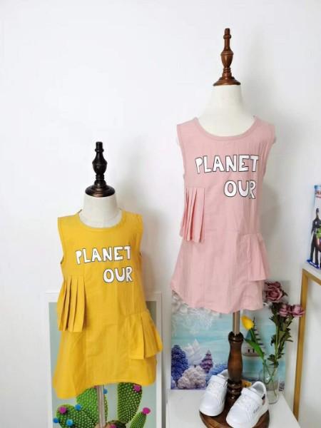 童童抢品牌折扣童装2020春夏款公主裙
