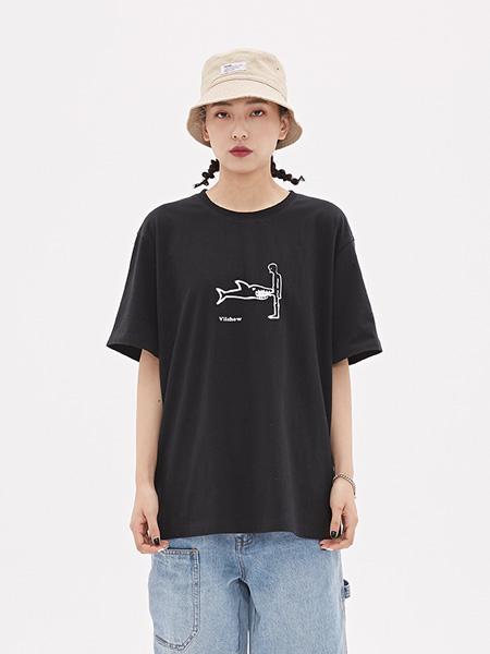 VIISHOW男裝品牌2020春夏新款短袖T恤男 潮牌圓領男士上衣情侶裝打底衫潮