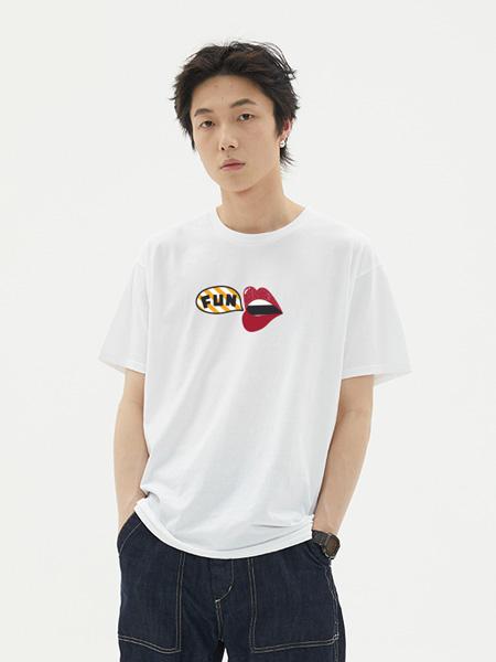 VIISHOW男装品牌2020春夏新款短袖T恤男 韩版圆领半袖男士多口袋个性上衣嘻哈