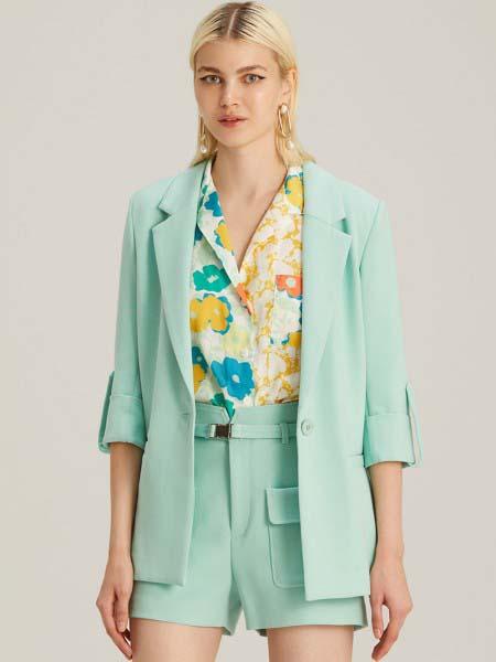 Jaspal国际品牌品牌2020春夏时尚知性西装外套