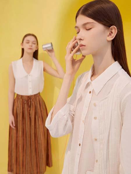 羽涵茜女装品牌2020春夏白色衬衫